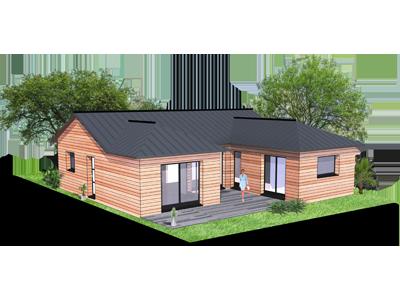 Devis construction maison ossature bois gratuit for Maison plain pied ossature bois