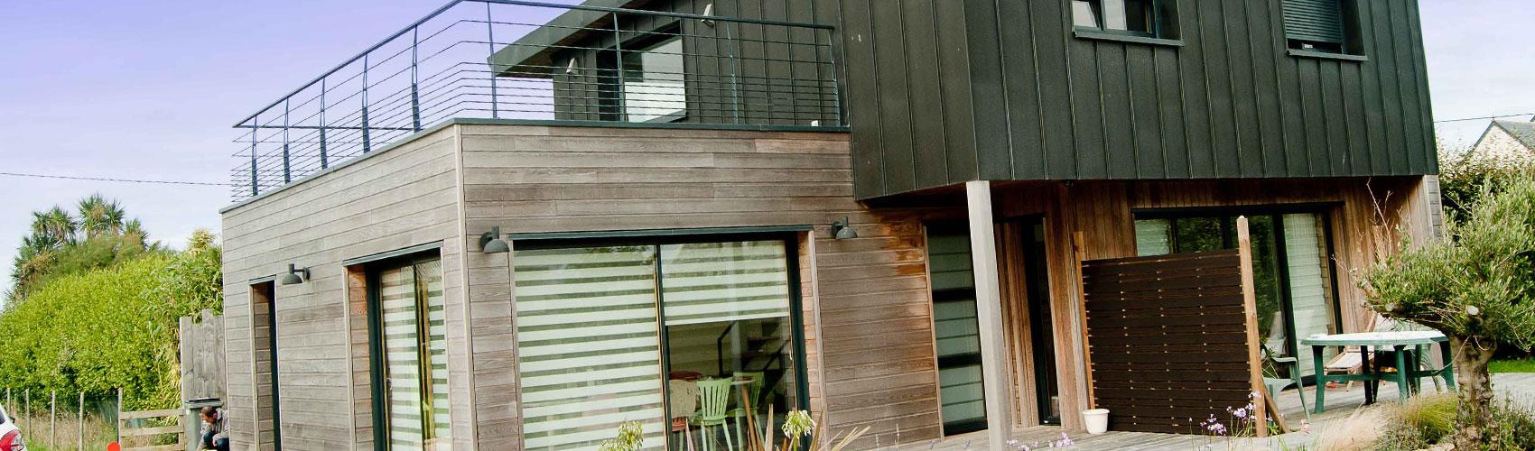 BATY BOIS CONSTRUCTEUR MAISON OSSATURE BOIS FINIST u00c8RE La maisons ossature bois # Constructeur Maison Bois Finistere